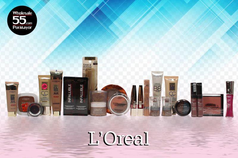 Wholesale L'Oréal Cosmetics Lot - 250, 500, 1000 Units | Wholesale55