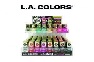 Wholesale LA Colors Color last nail polish Display